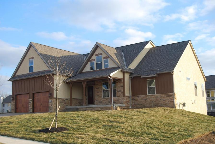 Custom winding creek home homes for sale columbus ohio for Central ohio home builders